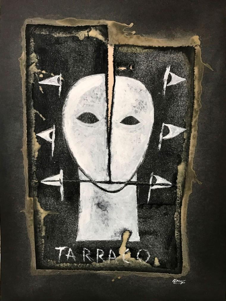 Tarraco, 2017. Mixta sobre tela. 70 x 50 cm