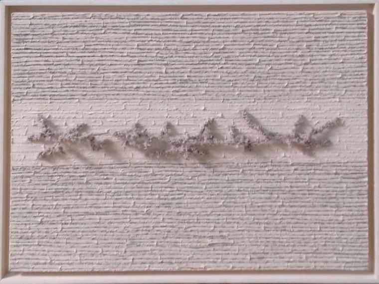 S-T, 2016. Mixta sobre tela. 60 x 80 cm